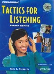 کتاب EXPANDING TACTICS FOR LISTENING+CD  EDI 2(رهنما)*