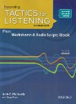 کتاب EXPANDING TACTICS FOR LISTENING+CD  EDI 3(سپاهان)