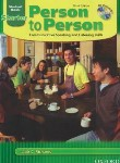 کتاب PERSON TO PERSON STARTER+CD EDI 3(رهنما)