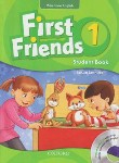 کتاب FIRST FRIENDS AMERICAN ENGLISH 1+CD(رحلی/پنگوئن)