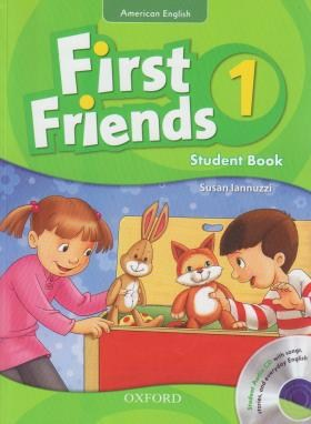 FIRST FRIENDS AMERICAN ENGLISH 1+CD(رحلی/پنگوئن)