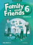 کتاب FAMILY AND FRIENDS 6 AMERICAN+CD  SB+WB(رحلی/پنگوئن)