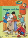 "کتاب READER ENGLISH TIME 5 ""DIGGER AND THE THIEF(آکسفورد)"