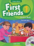 کتاب FIRST FRIENDS AMERICAN ENGLISH 1+CD(رهنما)