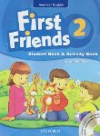 کتاب FIRST FRIENDS AMERICAN ENGLISH 2+CD(رهنما)