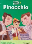 کتاب READER FAMILY AND FRIENDS 3  PINOCCHIO(رهنما)