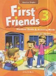 کتاب FIRST FRIENDS AMERICAN ENGLISH 3+CD (رحلی/رهنما)