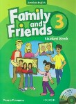 کتاب FAMILY AND FRIENDS 3 AMERICAN+CD  SB+WB (رحلی/رهنما)