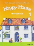 کتاب WORKSHEET HAPPY HOUSE 1 (رحلی/رهنما)