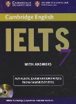 کتاب CAMBRIDGE IELTS 7+CD(رهنما)