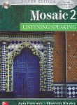 کتاب MOSAIC 2 LISTENING/SPEAKING  SILVER EDITION (رهنما)