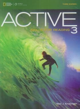 ACTIVE SKILLS FOR READING 3+CD  EDI 3(رهنما)