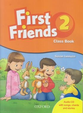 FIRST FRIENDS 2+CD SB+WB  EDI 2 (رحلی/رهنما)