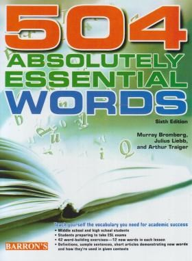 504ABSOLUTELY ESSENTIAL WORDS+CD  EDI 6 (رهنما)