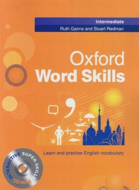 OXFORD WORD SKILLS INTERMEDIATE+CD (رحلی/رهنما)
