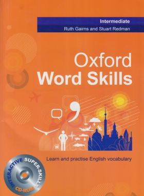 OXFORD WORD SKILLS INTERMEDIATE+CD (رحلی/جنگل)