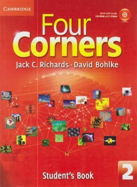 FOUR CORNERS 2+CD  SB+WB (رحلی/رهنما)
