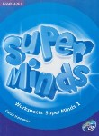 کتاب WORKSHEETS SUPER MINDS 1 (رحلی/رهنما)