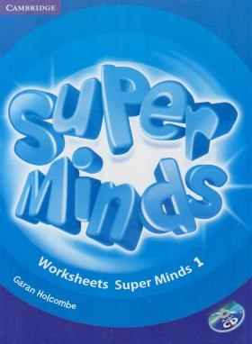 WORKSHEETS SUPER MINDS 1 (رحلی/رهنما)