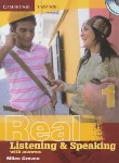 کتاب REAL LISTENING & SPEAKING 1+CD (رحلی/رهنما)