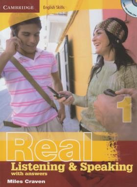 REAL LISTENING & SPEAKING 1+CD (رحلی/رهنما)