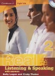 کتاب REAL LISTENING & SPEAKING 2+CD (رحلی/رهنما)