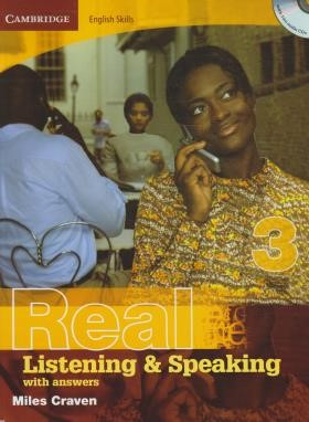 REAL LISTENING & SPEAKING 3+CD (رحلی/رهنما)