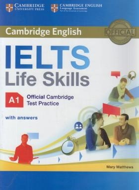 CAMBRIDGE ENGLISH IELTS LIFE SKILLS A1+CD (رحلی/رهنما)