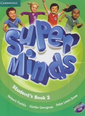 SUPER MINDS 2+CD SB+WB (رحلی/رهنما)
