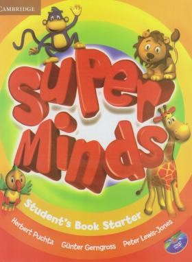 SUPER MINDS STARTER+CD SB+WB (رحلی/رهنما)
