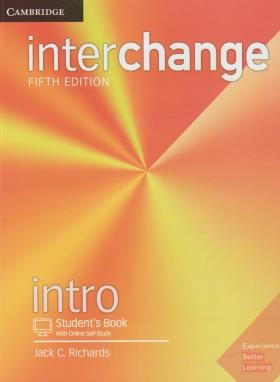 INTERCHANGE INTRO+CD EDI 5 SB+WB (رحلی/رهنما)