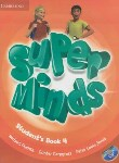 کتاب SUPER MINDS 4+CD SB+WB (رحلی/رهنما)