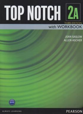 TOP NOTCH 2A+CD EDI 3 (رحلی/جنگل)