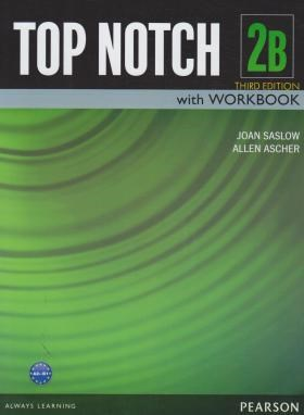 TOP NOTCH 2B+CD EDI 3 (رحلی/جنگل)