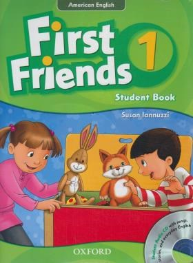 FIRST FRIENDS AMERICAN ENGLISH 1+CD  SB+WB (رحلی/جنگل)