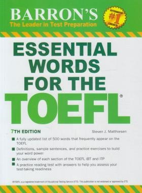 ESSENTIAL WORDS FOR THE TOEFL EDI 7 (رهنما)