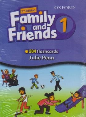 فلش کارت FAMILY AND FRIENDS 1 EDI 2 (رهنما)