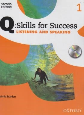 Q:SKILLS FOR SUCCESS 1 LISTENING AND SPEAKING+CD  EDI 2 (رحلی/رهنما)