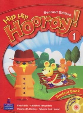 HIP HIP HOORAY 1+CD  SB+WB  EDI 2 (رحلی/رهنما)