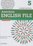 کتاب AMERICAN ENGLISH FILE 5+CD SB+WB  EDI 2 (رحلی/رهنما)