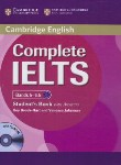 کتاب CAMBRIDGE COMPLETE IELTS B2 BANDS 5-6.5+CD SB+WB (رحلی/رهنما)