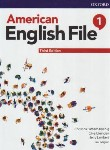 کتاب AMERICAN ENGLISH FILE 1+CD SB+WB EDI 3 (رحلی/رهنما)