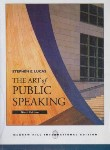 کتاب THE ART OF PUBLIC SPEAKING   LUCAS (رهنما)